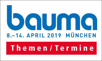 Der Countdown zur bauma 2019 läuft: Werbe-und Presseplaner der Allgemeinen Bauzeitung ab sofort verfügbar