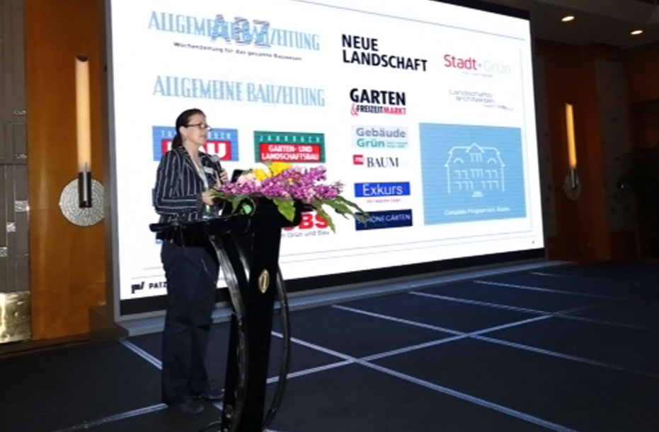 "Patzer Verlag Medienpartner der Messe ""Greenery & Landscaping China 2019"" in Shanghai"