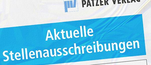 Patzer Verlag Stellenausschreibungen